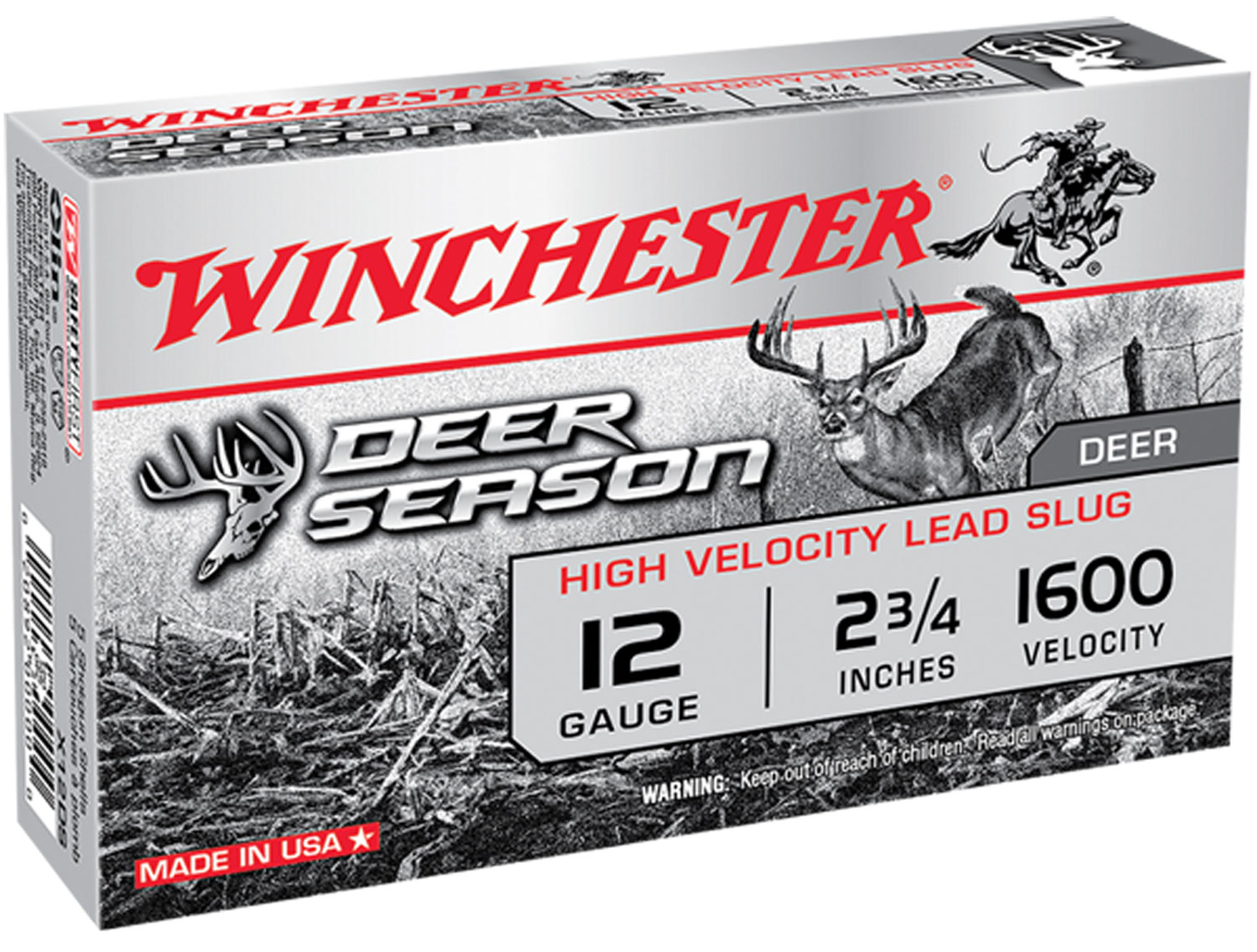 Winchester Deer Season High Velocity 12GA 2 3/4