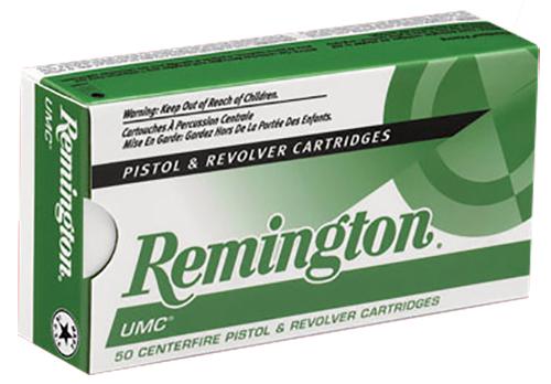 Remington Ammunition 23738 UMC 357 Mag 125 gr Jacketed Soft Point