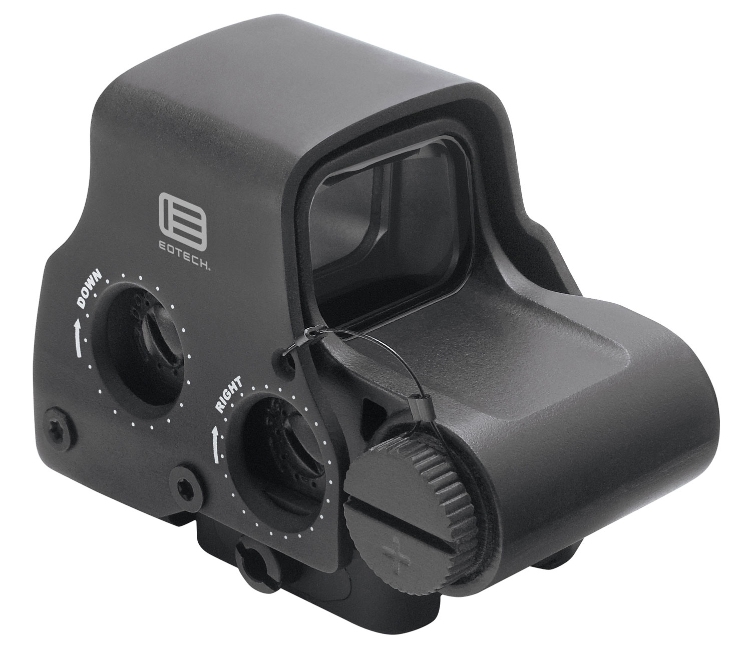 Eotech EXPS32 EXPS3 Holographic Weapon Sight 1x 68 MOA Ring/2 1 MOA Red Dot Black CR123A Lithium (1) Night Vision