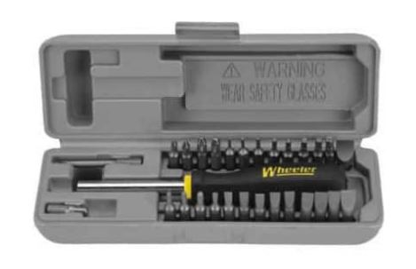 Wheeler Engineering Space Saver Screwdriver Set