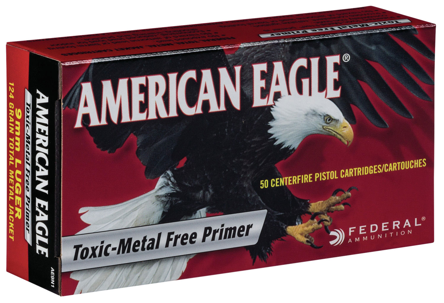 Federal AE357A American Eagle 357 Mag 158 gr Jacketed Soft Point (JSP)
