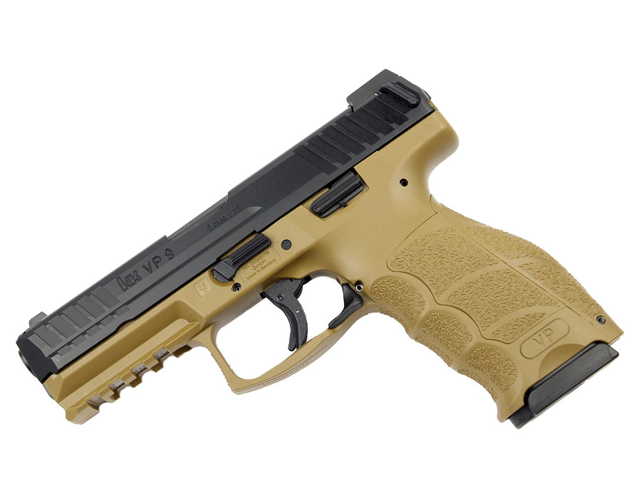 H&K VP9-FDE LE 9mm Striker Fired, Tritium Night Sights, 3 Mags