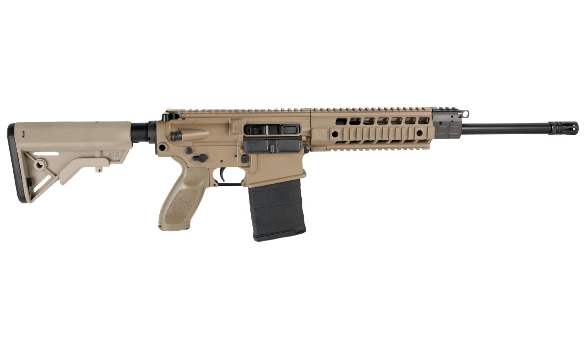 Sig Sauer 716 Patrol Rifle, Flat Dark Earth, 7.62x51 NATO