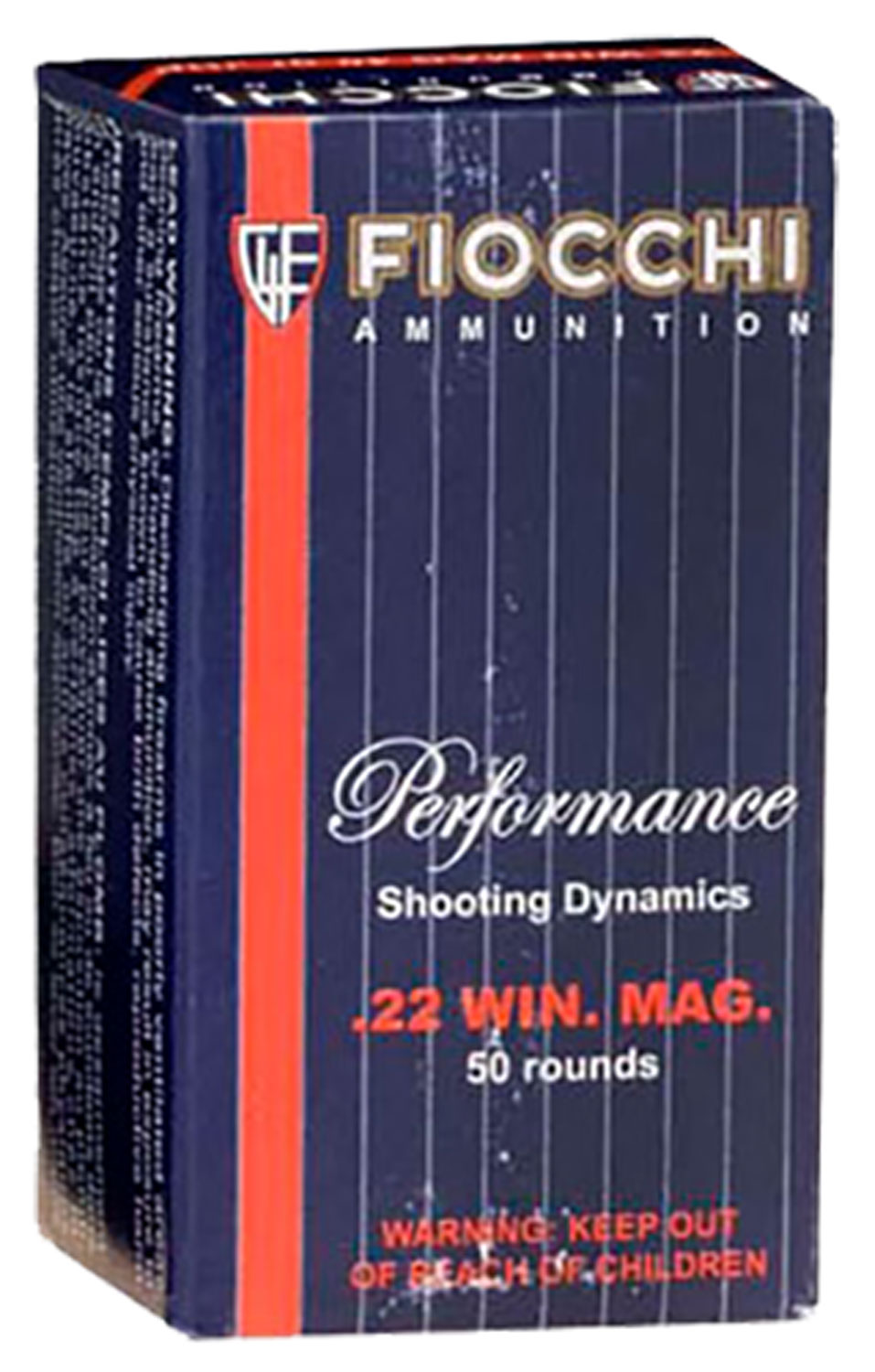 Fiocchi 22FWMB Shooting Dynamics Hunting 22 Mag 40 gr Jacketed Hollow Point (JHP) 50 Bx