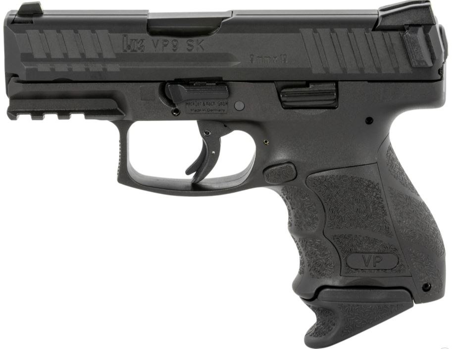 HK 81000293 VP9SK Subcompact 9mm Luger 3.39