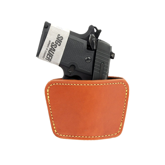 Gould & Goodrich Ambidextrous Concealment Holster, BROWN
