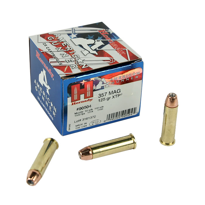 Hornady American Gunner .357 Magnum 125 GR. XTP HP - 25RD