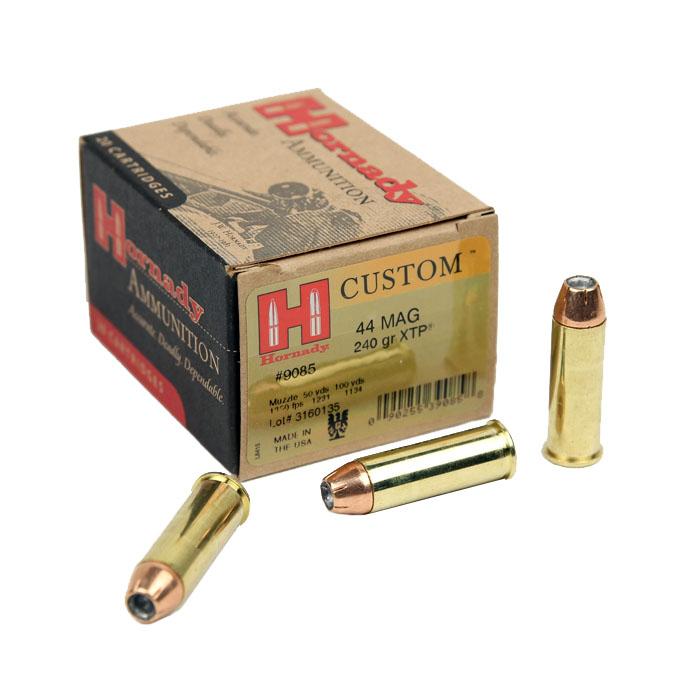 Hornady .44 Magnum 240 GR. XTP JHP - 20RD