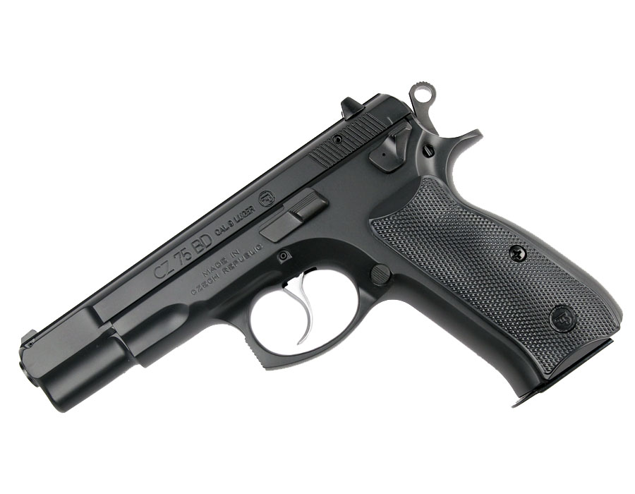CZ-75BD, Fixed Sights, 9mm