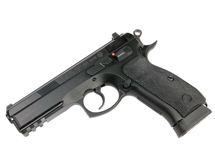 CZ 75 SP-01, Night Sights, 9mm