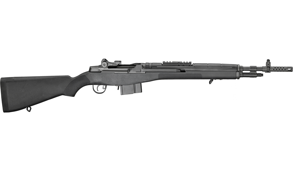 Springfield Armory M1A Scout Squad .308 - BLACK STOCK