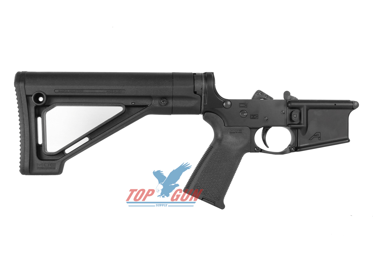 Aero Precision Gen 2 Complete Lower Receiver w/ Magpul MOE Grip and Fixed Stock