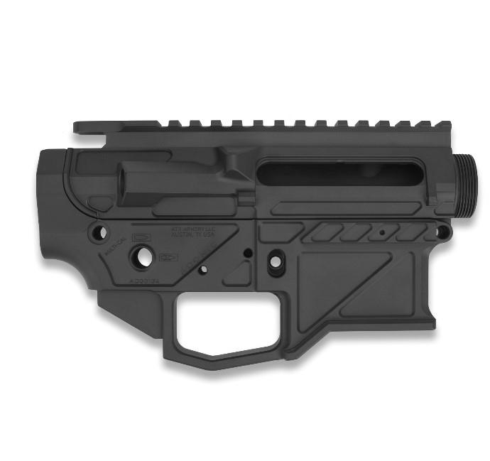 ATX Armory Adonis AR15 Billet Receiver Set—Graphite Black