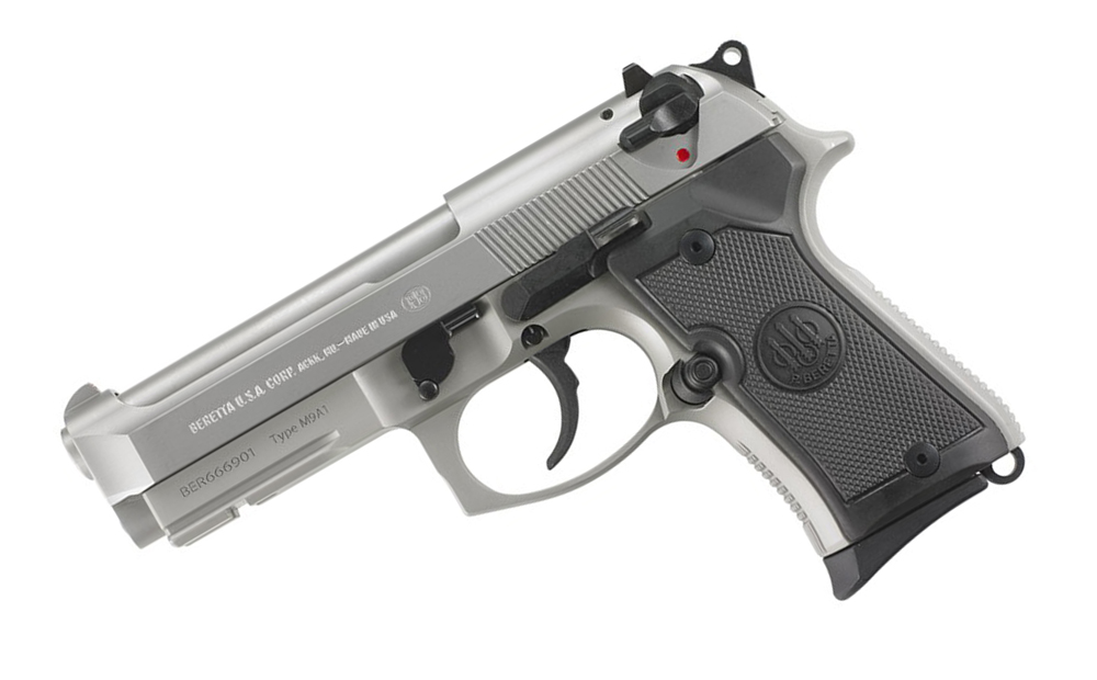 Beretta M9A1 92FS Compact Inox Fixed Sights, 9mm