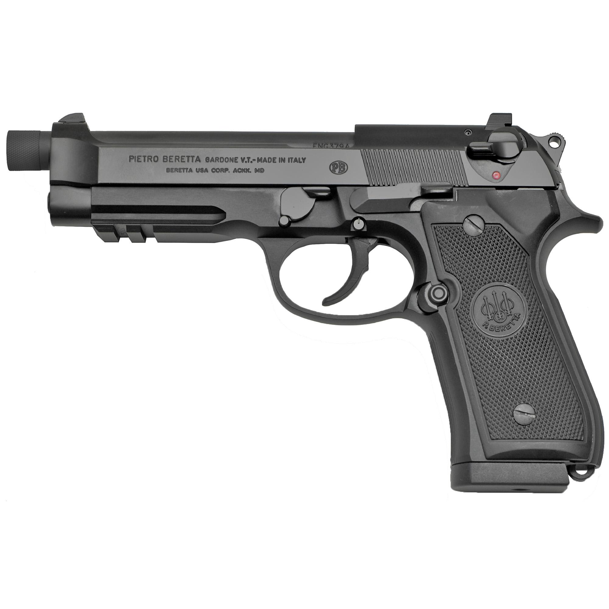 Beretta USA J9A9F102 92A1 9mm Luger 4.90