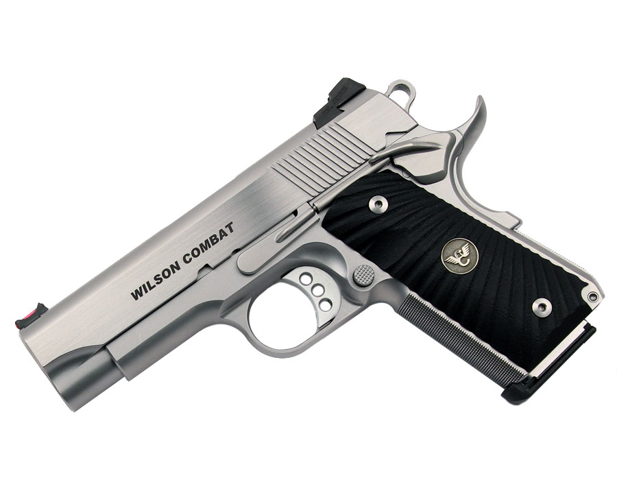Wilson Combat CQB Compact, .45ACP, Stainless - USED