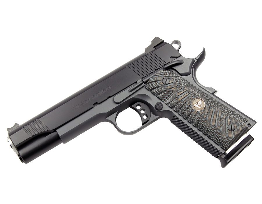 Wilson Combat CQB 9mm, G10 Grips, Black/Gray