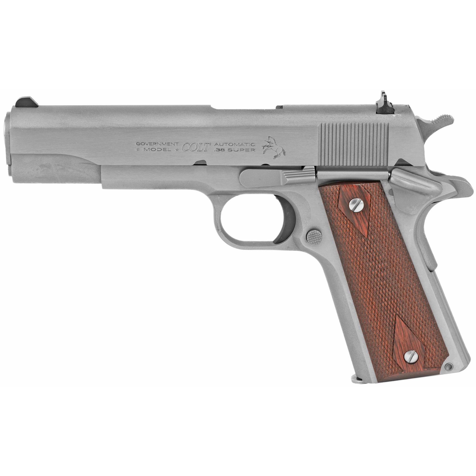 Colt O1911CSS38 1911 Government 38 Super 5