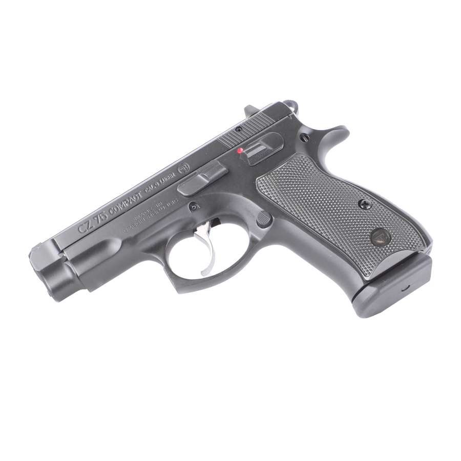 CZ-75 Compact, Black, 9mm