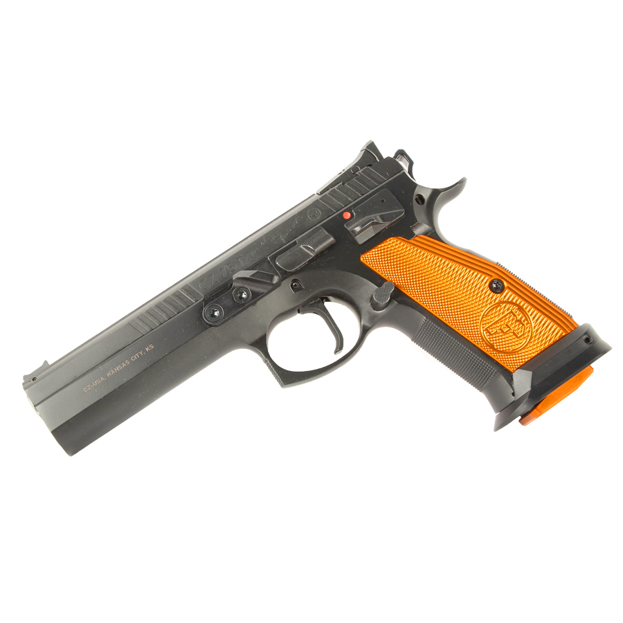 CZ-75 Tactical Sport, Orange, 9mm