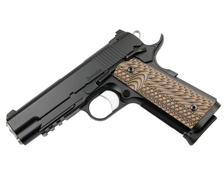 Dan Wesson Specialist Commander, 9mm, Black