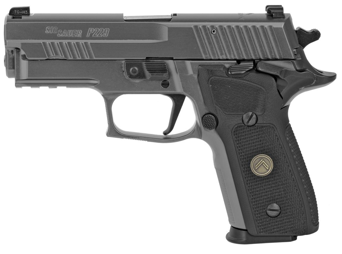 Sig Sauer P229 Legion, 9mm, Night Sights, SAO