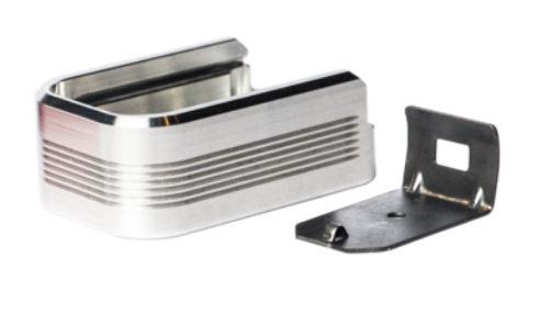 Mec-Gar Adapter - PLUS 2 for Polymer Floorplate - Aluminum, Grey