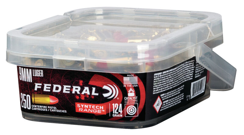 Federal 9mm Luger 124 GR Total Syntech Jacket Round Nose - 250RD