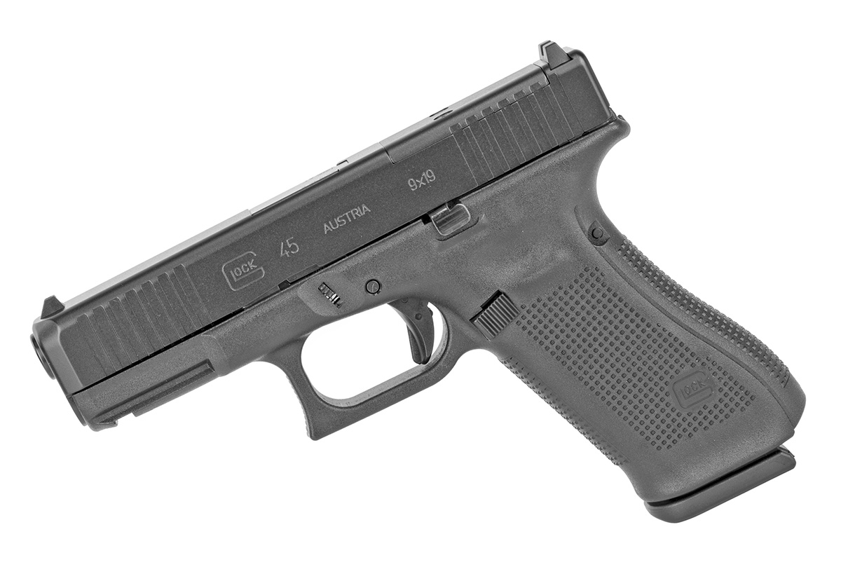 Glock 45 MOS 9mm Gen 5 - Black