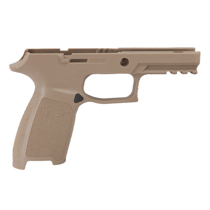 Sig Sauer P250/320 Grip Module Assembly, 9/40/357 Carry - Small Grip - FDE
