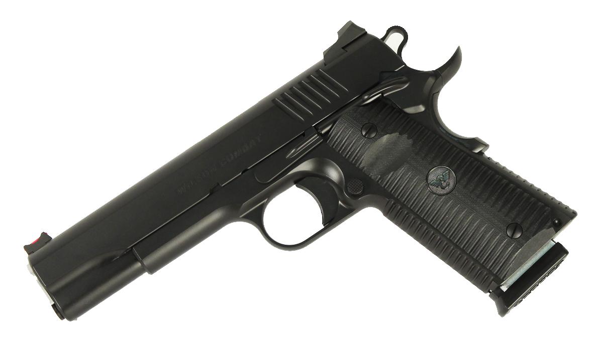 Wilson Combat ACP Full Size, 9mm, G10 Grips, Black