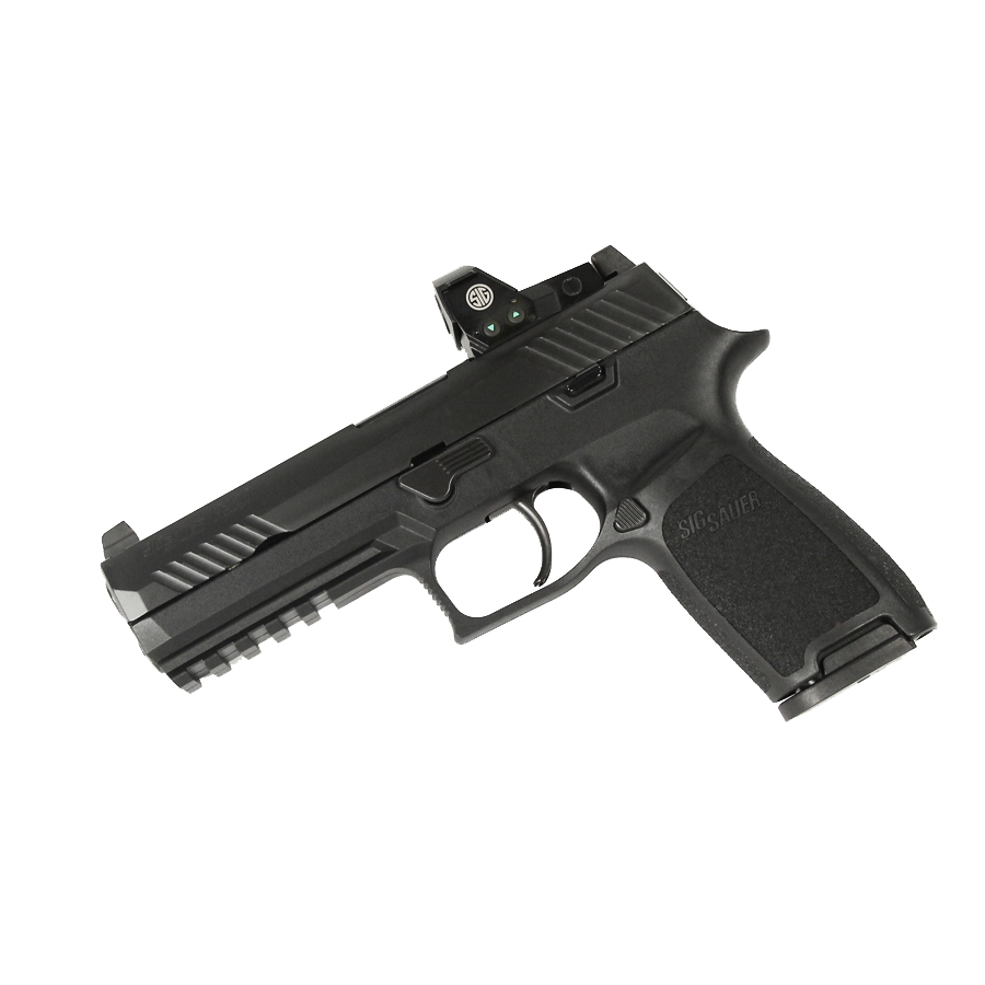 Sig Sauer P320 Full Size RX, 9mm, Nitron, SigLite Night Sights, DAO