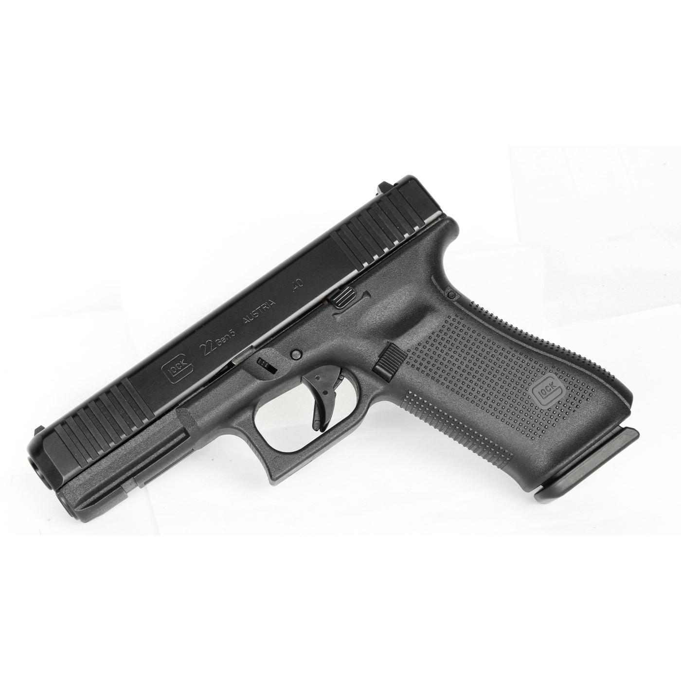 Glock 22 GEN 5 .40SW Front Serrations - Black