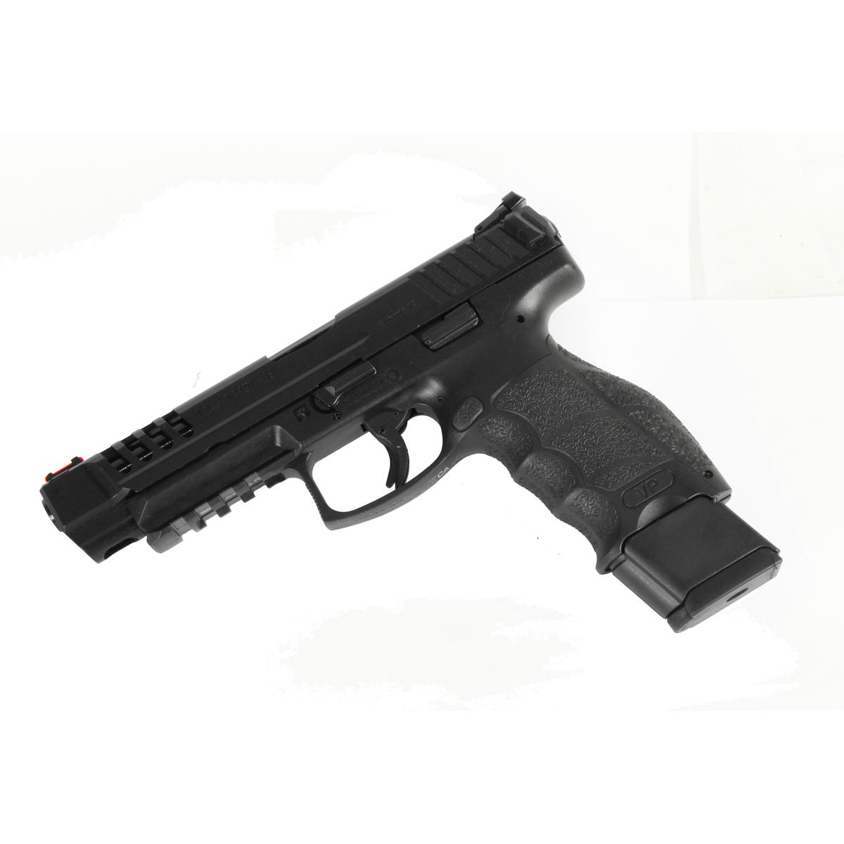H&K VP9L 9mm Striker Fired, Night Sights, PB Mag Release