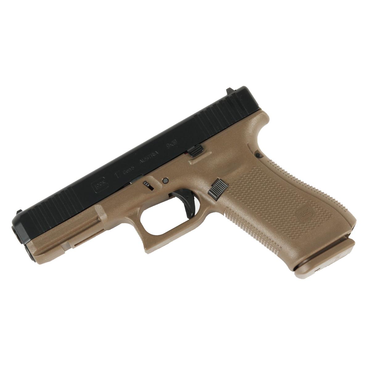Glock 17 GEN 5 9mm - Flat Dark Earth - Front Serrations