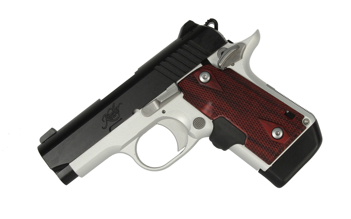 Kimber Micro 9 Two Tone CTC Laser Grip - 9mm