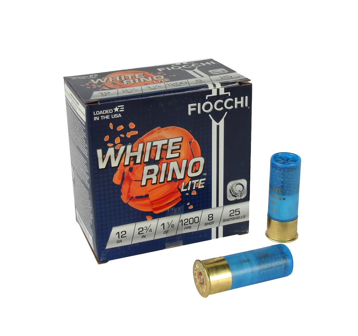 Fiocchi White Rino Lite 12 Gauge 2.75