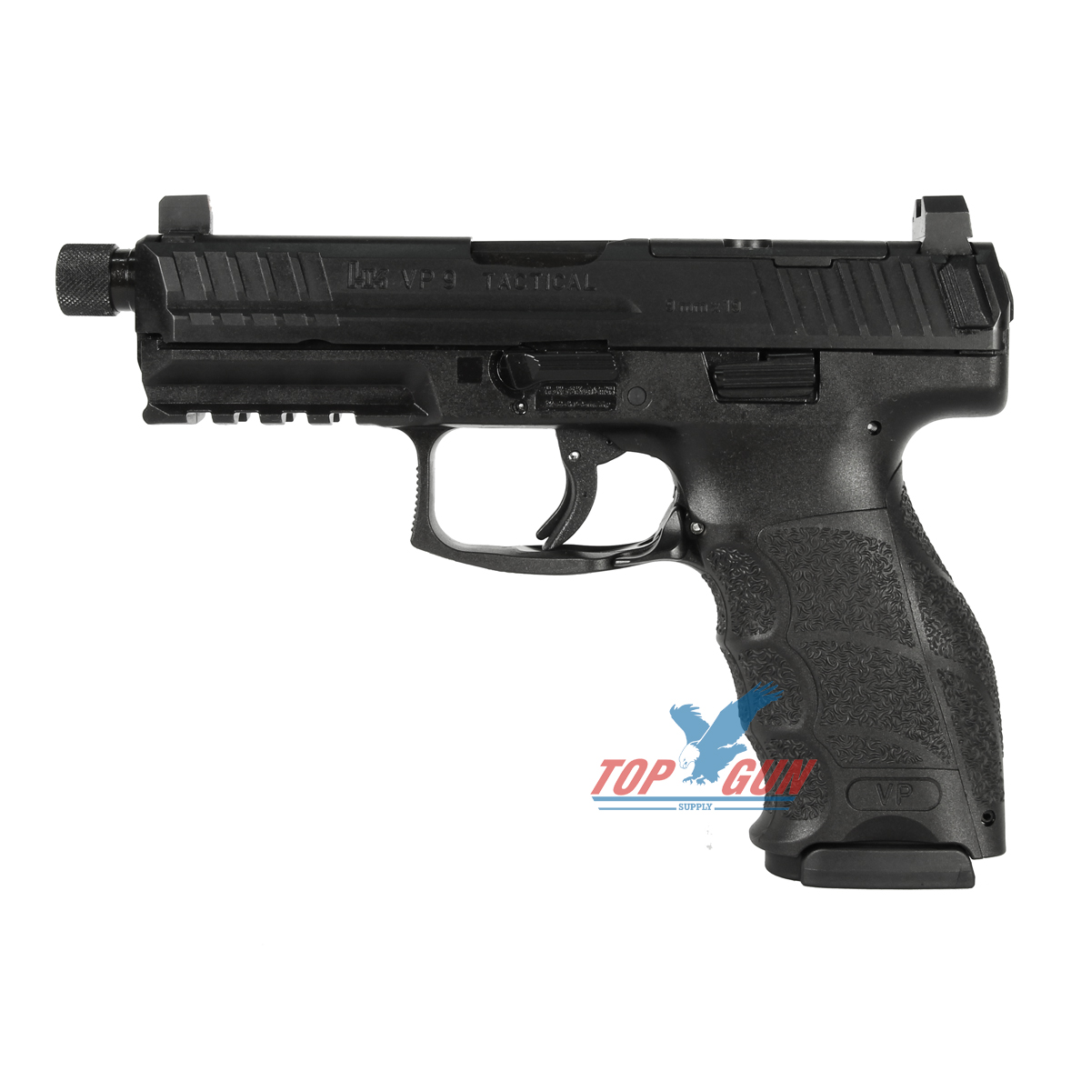 H&K VP9 Tactical LE 9mm Striker Fired, Optics Ready, Suppressor Sights, 3 17RD Mags