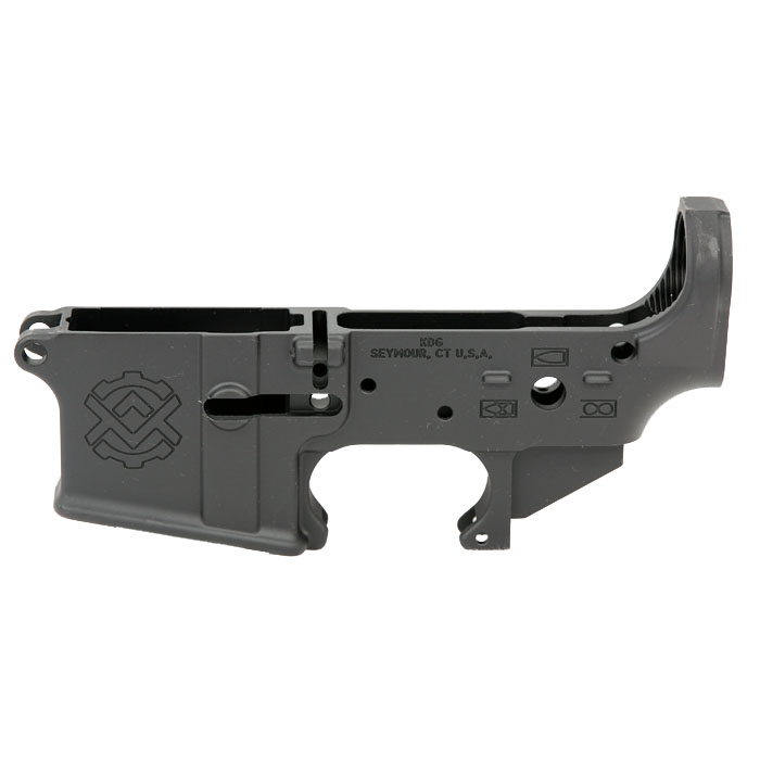 Kinetic Development Group AR-15 5.56mm Enhanced Lower Receiver - STRIPPED