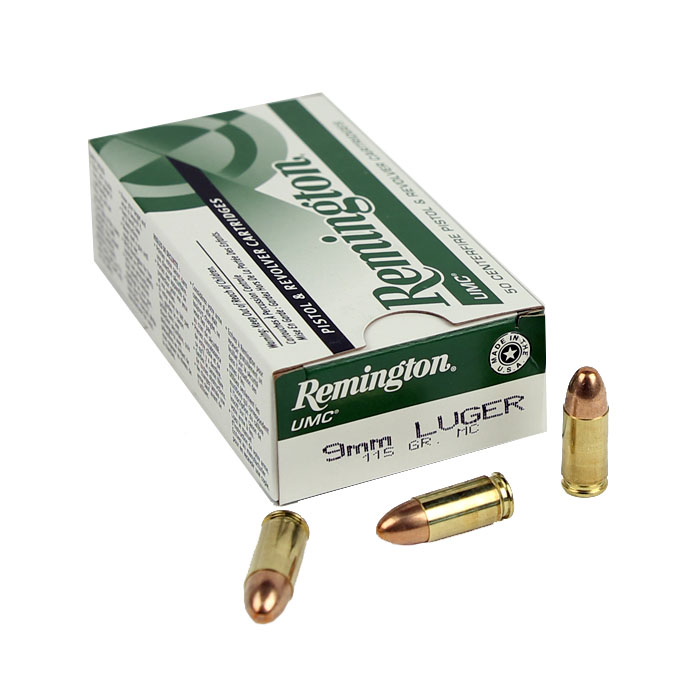 Remington UMC 9mm Luger 115 GR. FMJ - 50RD