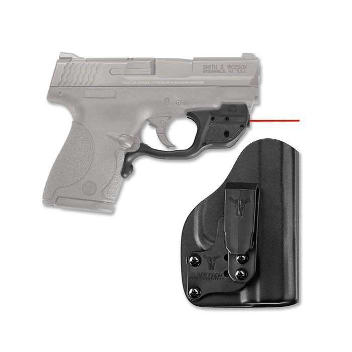 Crimson Trace Laserguard W/Bladetech IWB Holster - Smith & Wesson M&P Shield
