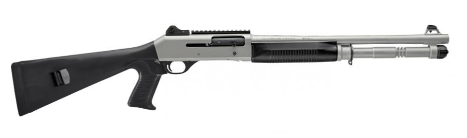 "Benelli M4 H2O Tactical Shotgun, 18.5"" Barrel, 12 Gauge 11794"