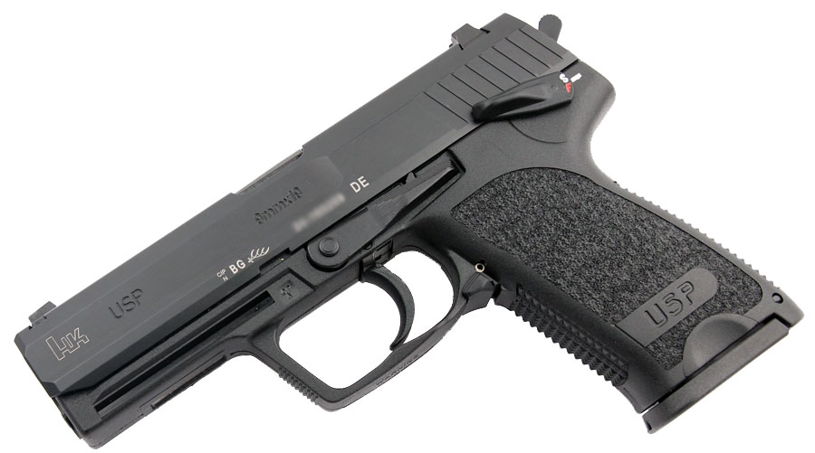 H&K USP 9mm, DA/SA, Standard Sights