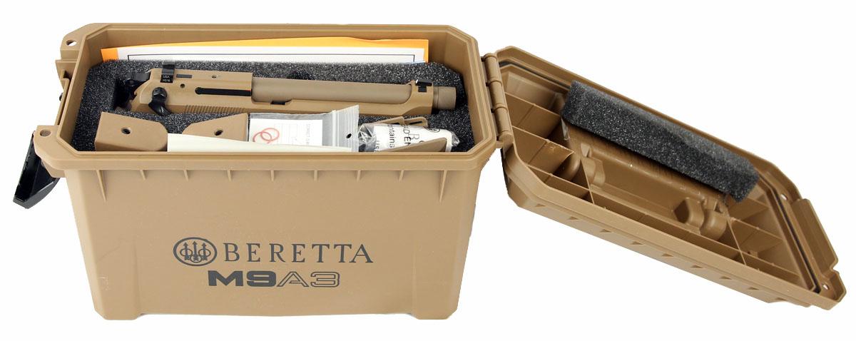 Beretta M9A3, Night Sights, 9mm