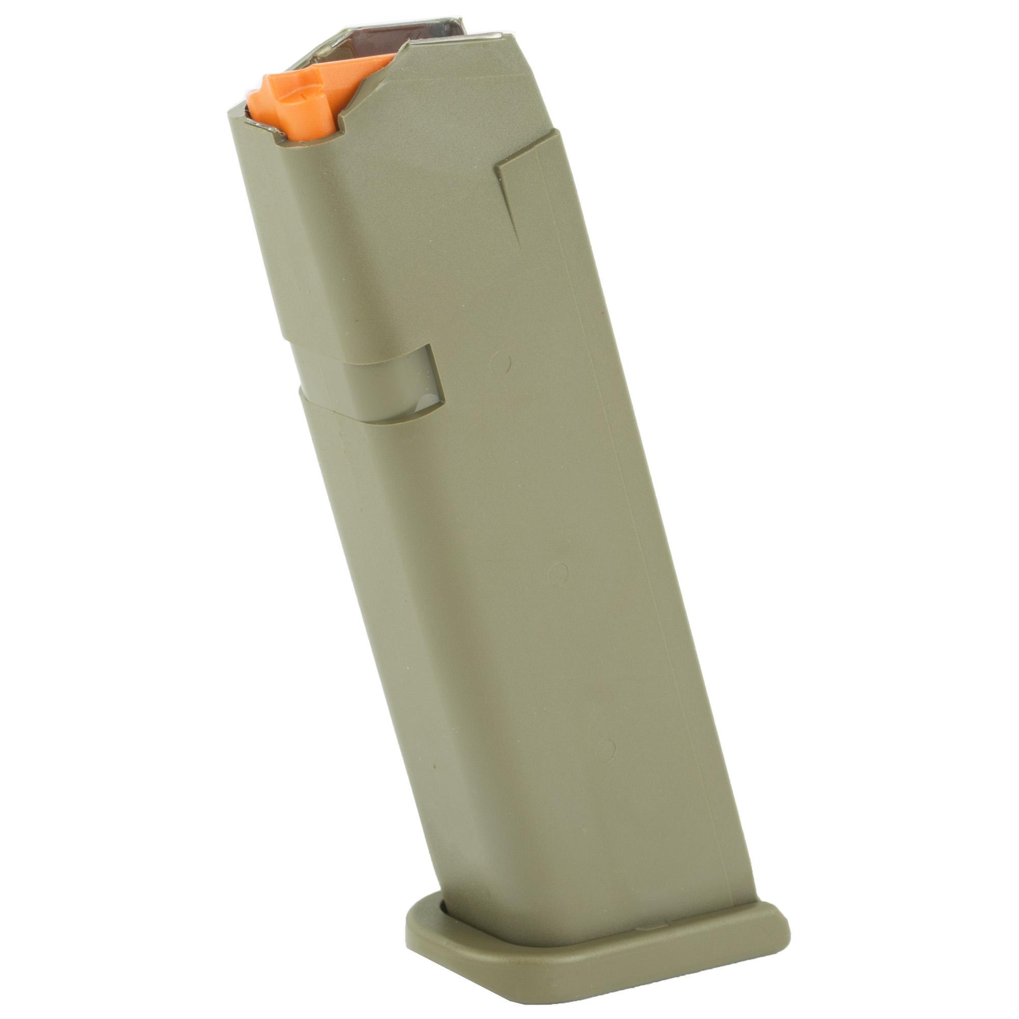 Glock 17 9mm 17RD Magazine - OD GREEN