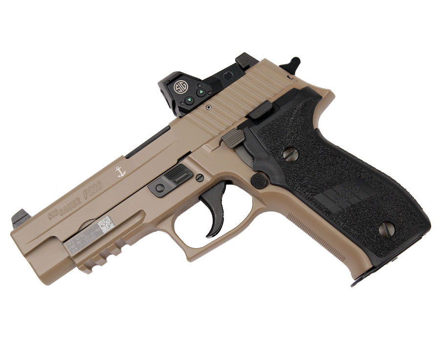 Sig Sauer P226 MK25 DESERT RX, 9mm, Night Sights, DA/SA
