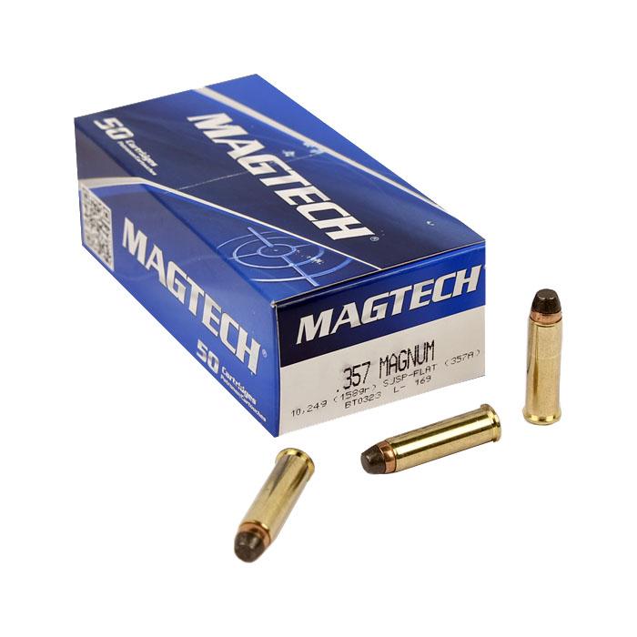 Magtech .357 Magnum 158 GR. SJSP - 50RD