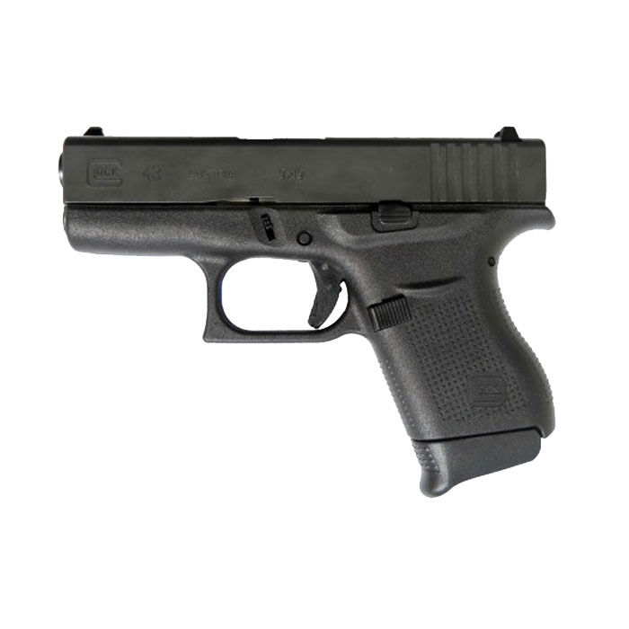 Pearce Plus One Grip Extension - For Glock 43