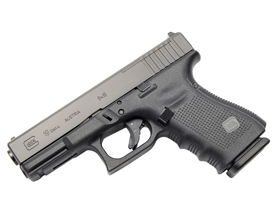 Glock 19 GEN 4 MOS 9mm - Black