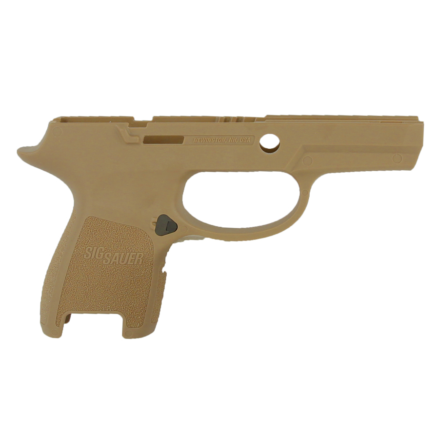 Sig Sauer P250/320 Grip Module Assembly, 9/40/357 Sub-Compact Small - Small Grip - FDE